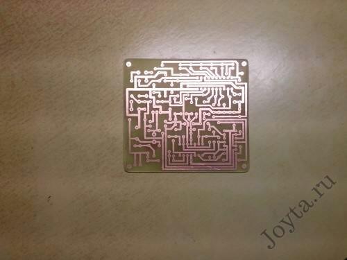 Лазерно-утюжная технология ЛУТ