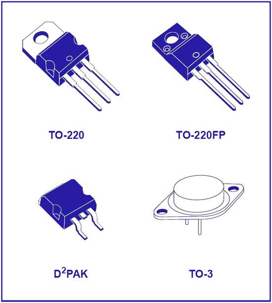 Корпус LM317 регулируемого стабилизатора напряжения и тока
