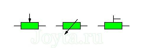 обозначение потенциометра