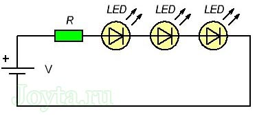 raschet rezistora dlya svetodioda onlajn kalkulyator 113 - Формула расчета резистора для светодиода