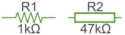 обозначение резистора на схеме