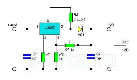 L200c – зарядное устройство