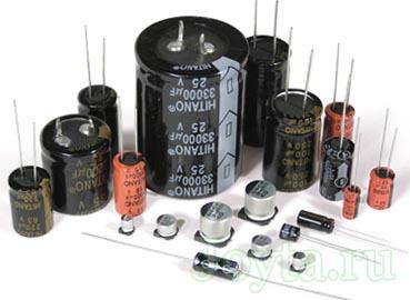алюминиевый вид конденсатора