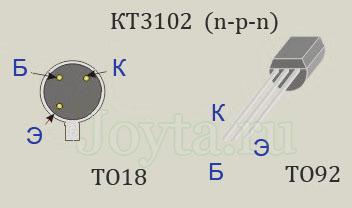 кт3102 цоколевка