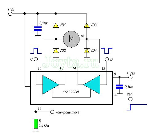 схема L298