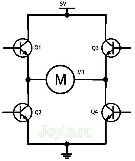 H-мост на транзисторах