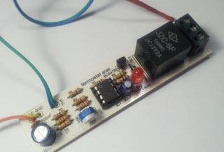 терморегулятора на LM358 в сборе
