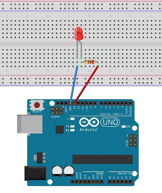 Как подключить светодиод к Arduino Uno
