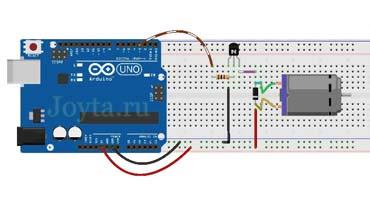 upravlenie-dvigatelya-postoyannogo-toka-s-pomoshhyu-tranzistora-i-arduino-min