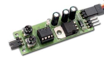 схема управления сервоприводом на микроконтроллере PIC12F675 - фото