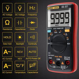Цифровой мультиметр AN8009
