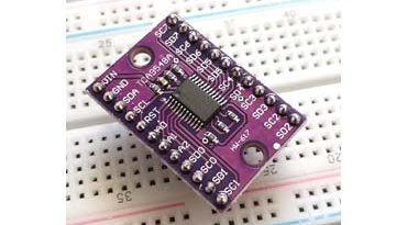 Использование мультиплексора TCA9548A 1-to-8 I2C с Ардуино