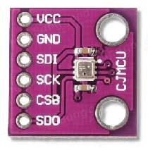 BME280 - барометрический датчик, измеряющий температуру и влажность.