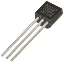 DS18B20 однопроводной цифровой датчик температуры