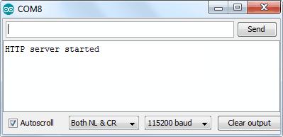 запуск HTTP-сервера