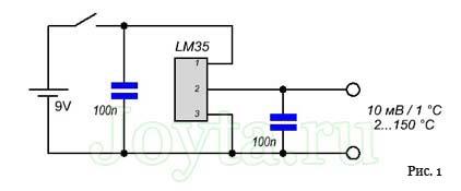 Цифровой термометр от 2 до 150 °C