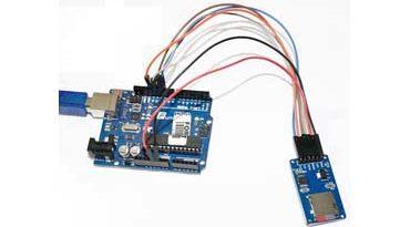 Ардуино и модуль чтения MicroSD и SD карт. Запись данных на карту